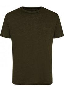 Льняная футболка с круглым вырезом Rag&Bone Rag&Bone