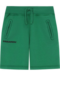Хлопковые шорты на кулиске Dsquared2