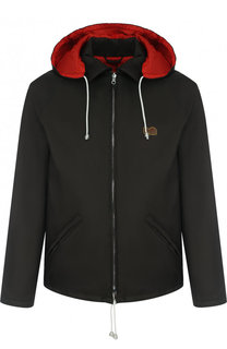 Куртка на молнии с капюшоном Marni