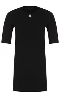 Хлопковая удлиненная футболка 11 by Boris Bidjan Saberi