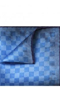 Шелковый платок в клетку Canali