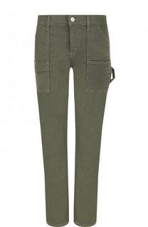 Укороченные однотонные джинсы прямого кроя Citizens Of Humanity