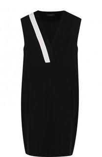 Мини-платье свободного кроя с V-образным вырезом Rag&Bone Rag&Bone
