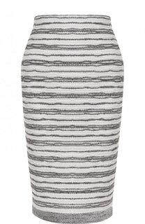 Буклированная юбка-карандаш D.Exterior