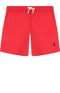 Плавки-шорты с логотипом бренда Polo Ralph Lauren