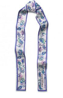 Шелковый шарф-бандо Emilio Pucci