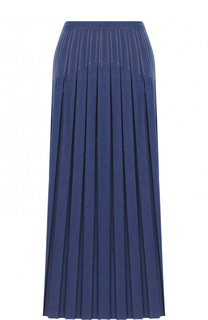 Джинсовая юбка-миди в складку Loro Piana