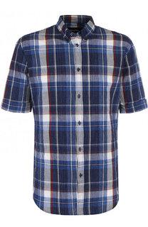Хлопковая рубашка с короткими рукавами Dsquared2