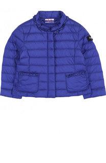 Пуховая куртка с воротником-стойкой Il Gufo
