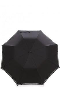 Складной зонт с фигурной ручкой Alexander McQueen