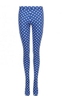 Леггинсы с контрастным принтом в виде звезд Givenchy