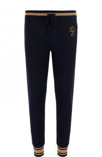Кашемировые джоггеры с контрастными манжетами Dolce & Gabbana