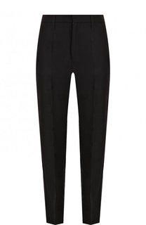 Однотонные брюки прямого кроя из вискозы Zadig&Voltaire Zadig&Voltaire