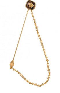Булавка для галстука с цепочкой Dolce & Gabbana