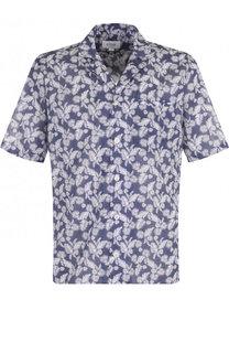 Хлопковая рубашка с короткими рукавами Eton