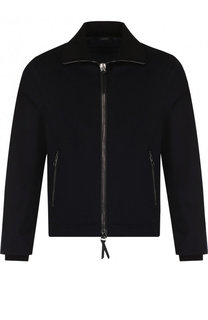 Кашемировая куртка на молнии Giorgio Armani
