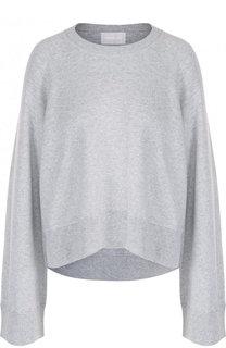 Хлопковый пуловер свободного кроя с круглым вырезом Zadig&Voltaire Zadig&Voltaire