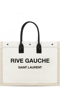 Текстильная сумка-тоут Noe Saint Laurent