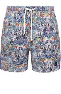 Плавки-шорты с принтом Paul&Shark Paul&Shark