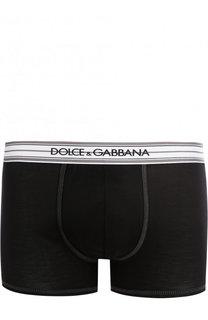 Шелковые боксеры с широкой резинкой Dolce & Gabbana