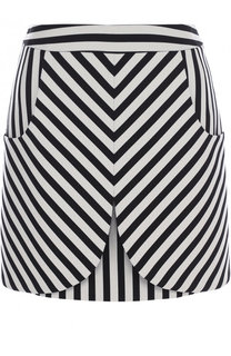 Мини-юбка с контрастную полоску Dolce & Gabbana