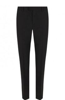 Однотонные брюки прямого кроя из эластичной шерсти REDVALENTINO