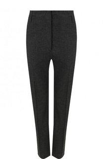 Укороченные однотонные брюки из смеси льна и вискозы Isabel Marant Etoile
