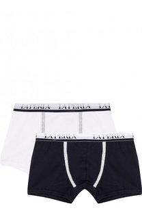 Комплект из двух боксеров с логотипом бренда La Perla