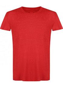 Льняная футболка с круглым вырезом 120% Lino