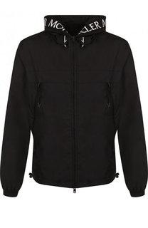 Куртка Massereau на молнии с вышивкой на капюшоне Moncler