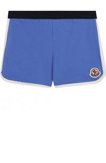 Плавки-шорты с логотипом бренда Moncler Enfant