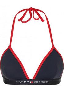 Треугольный бюстгальтер с логотипом бренда Tommy Hilfiger