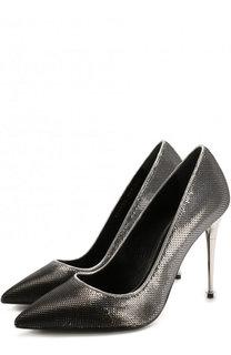 Туфли Metal Heel с вышивкой пайетками на шпильке Tom Ford
