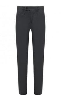 Хлопковые брюки прямого кроя Bogner