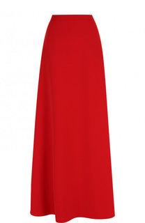 Однотонная юбка-макси Escada