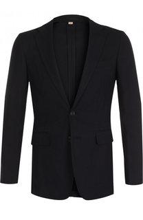 Однобортный пиджак Burberry