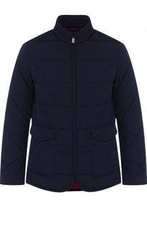 Стеганая куртка на молнии с воротником-стойкой Bogner