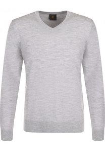Пуловер из шерсти тонкой вязки Bogner