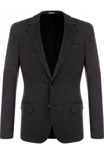 Однобортный шерстяной пиджак Lanvin