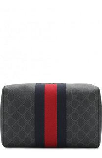 Несессер на молнии с принтом GG Supreme Gucci