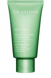 Очищающая маска с экстрактом кипрея SOS Pure Clarins