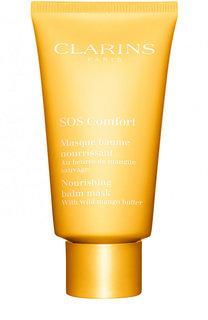 Питательная маска с маслом манго SOS Comfort Clarins