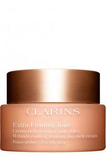 Регенерирующий дневной крем против морщин для сухой кожи Extra-Firming Jour Clarins