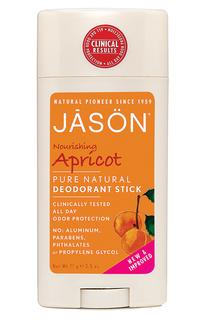 Твердый дезодорант «Абрикос» JASON