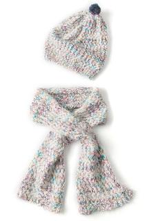 Комплект: шапка, шарф I love to dream