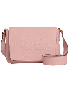 small embossed messenger bag Burberry