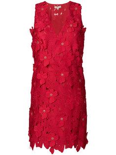платье мини с цветочной аппликацией  Michael Michael Kors