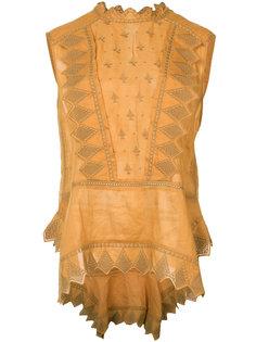 вышитая блузка Isabel Marant