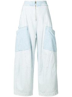 расклешенные джинсы Chloé