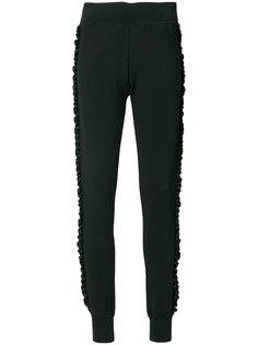 спортивные брюки со сборками Love Moschino